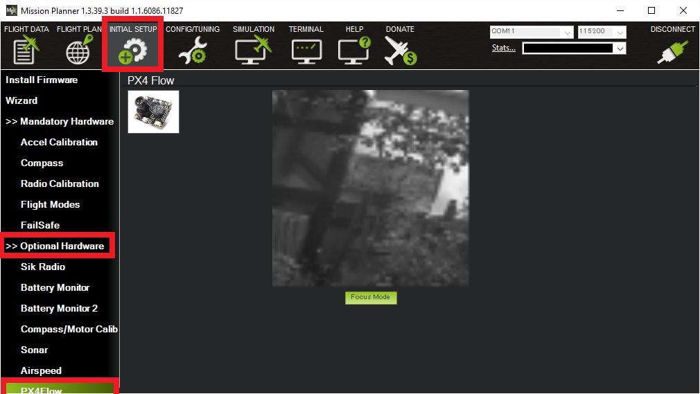 PX4FLOW Optical Flow Camera Board — Copter documentation