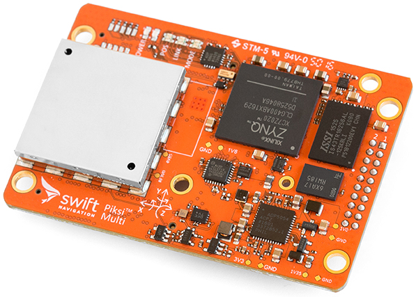 Swift Navigation's Piksi Multi RTK GPS Receiver — Copter