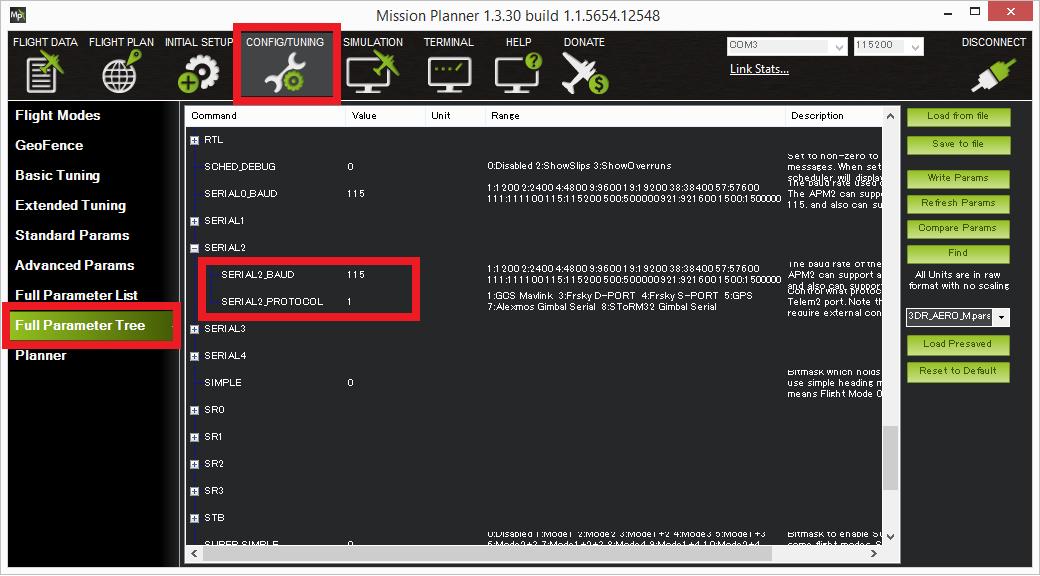 Storm32 Gimbal Controller Copter Documentation
