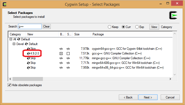 Setting up the waf Build Environment on Windows using Cygwin