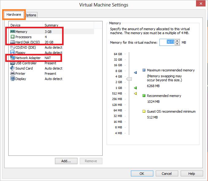 Инструкция по установке vmware