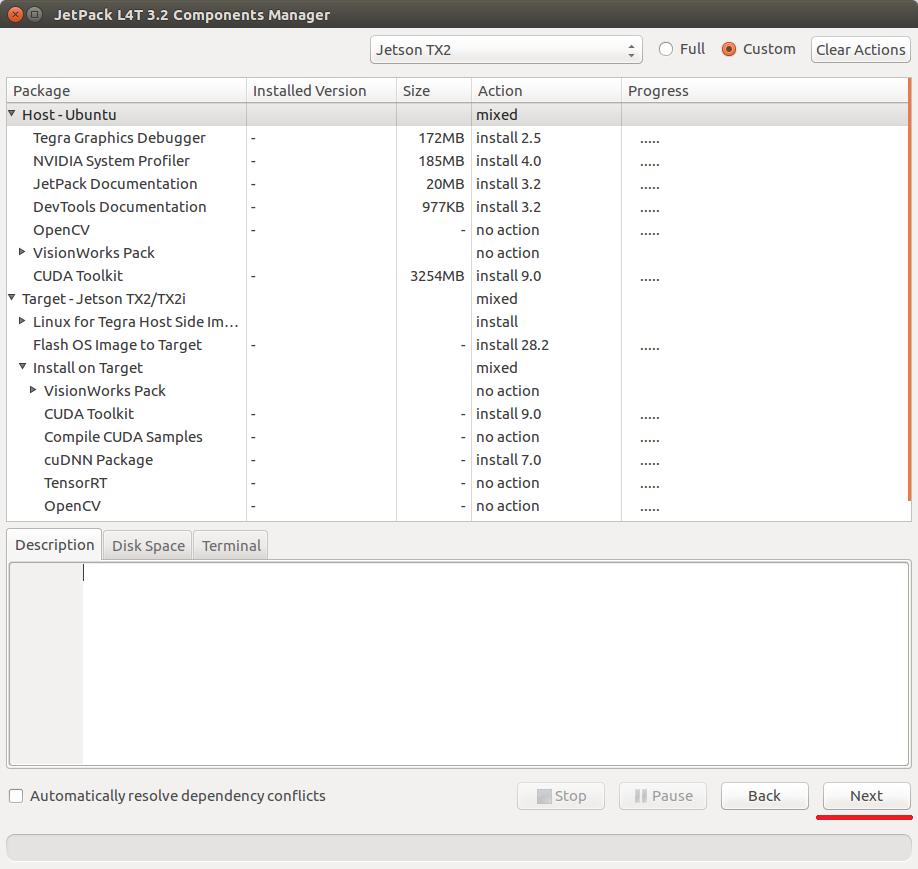 NVidia TX2 as a Companion Computer — Dev documentation