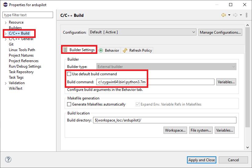 Setup Eclipse on Windows — Dev documentation