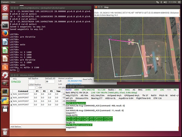 SITL Simulator (Software in the Loop) — Dev documentation