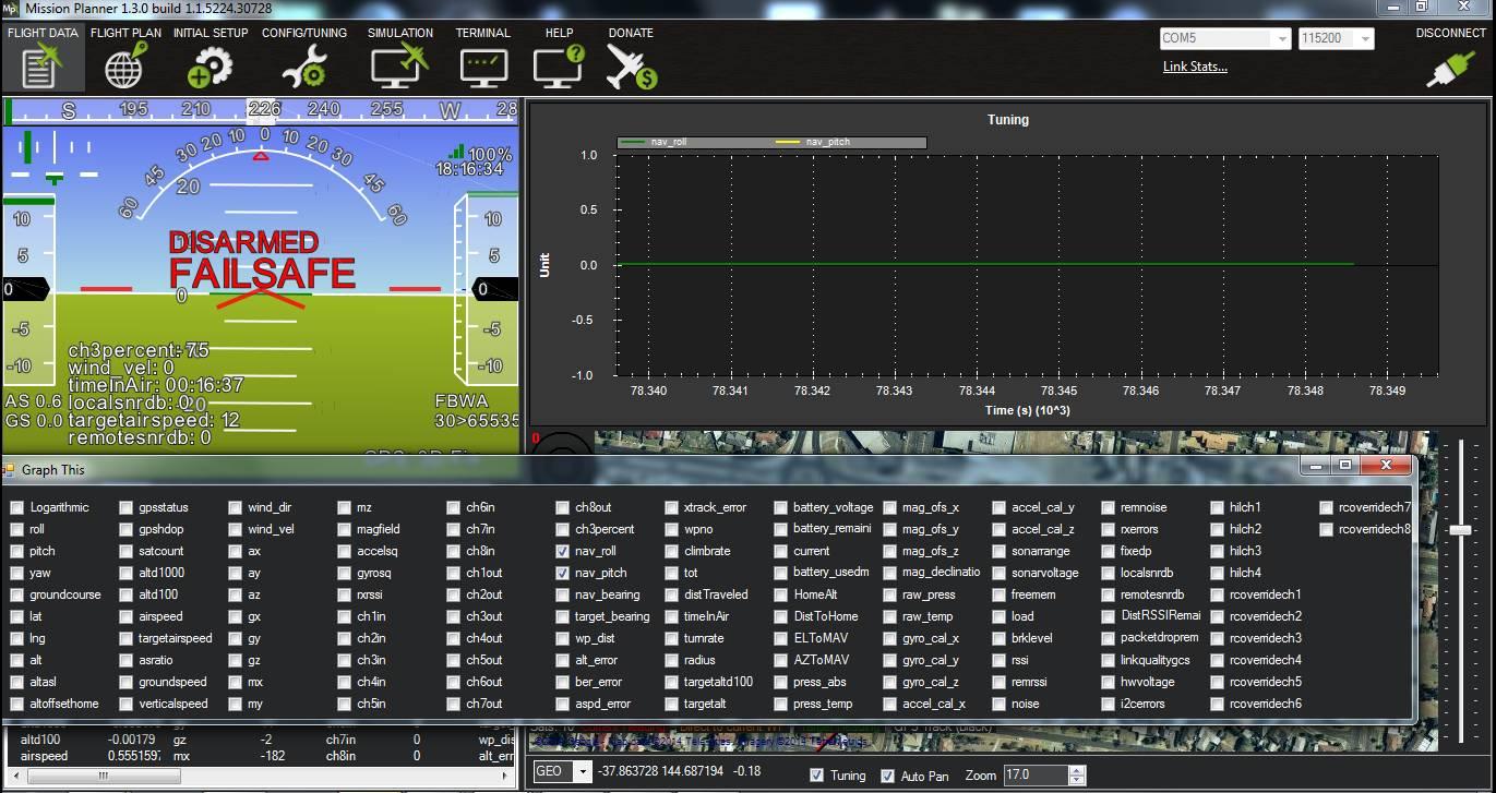 Starting up and calibrating Plane — Plane documentation