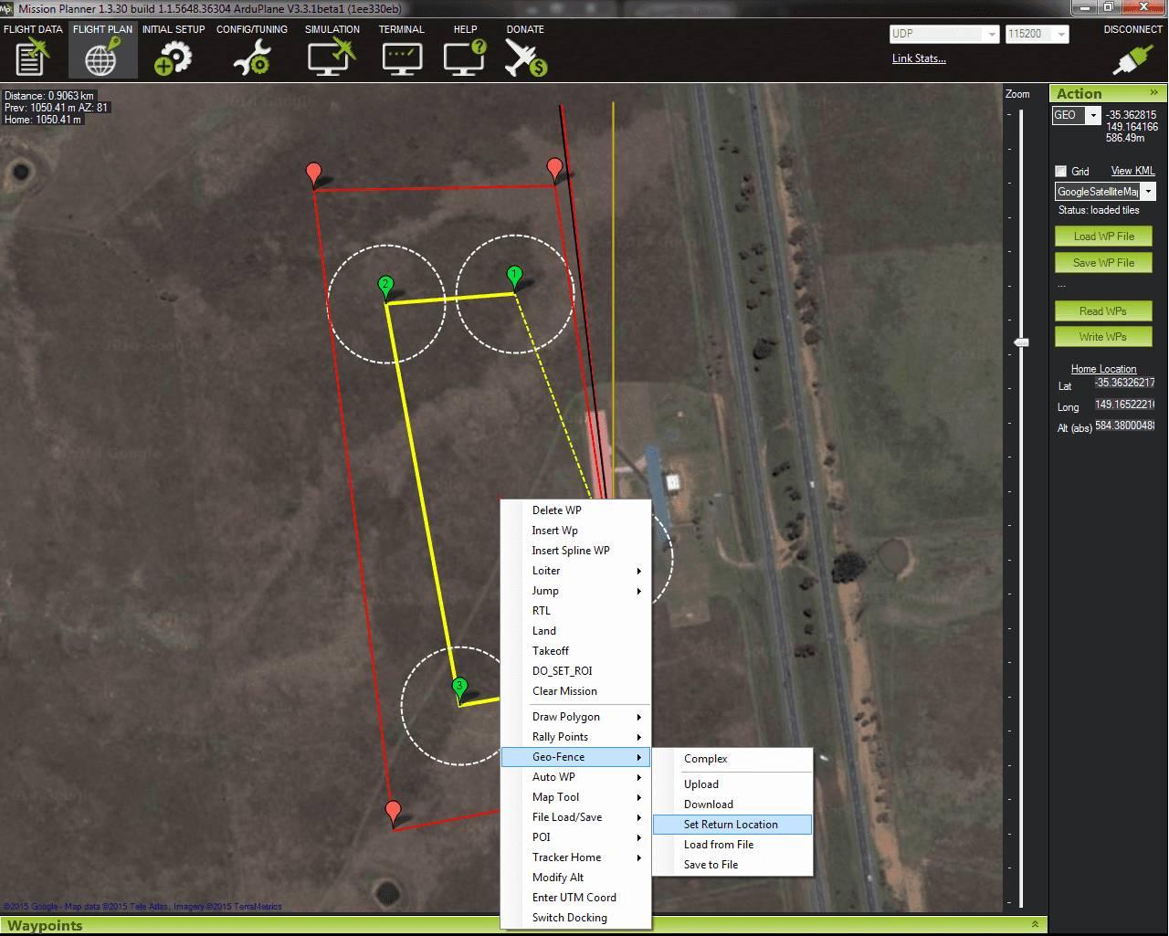 Geo-Fencing in Plane — Plane documentation