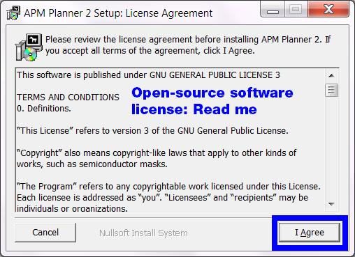 Installing Apm Planner For Windows Apm Planner 2 Documentation