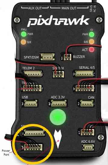 Pixhawk Wiring Quick Start — Rover documentation