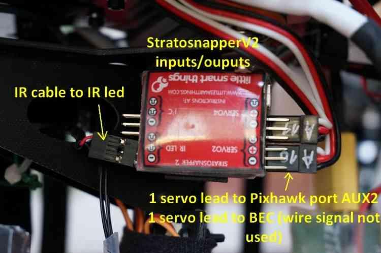 Camera Shutter Triggering using Stratosnapper mdash Rover